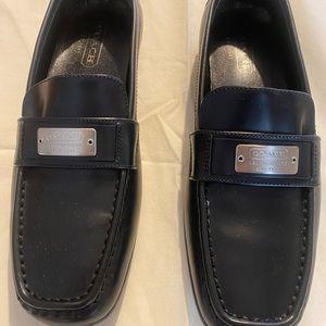 BRAND NEW COACH Lora Spazzolato Loafers Black